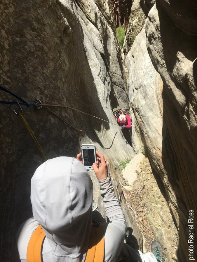 Fun rock narrows