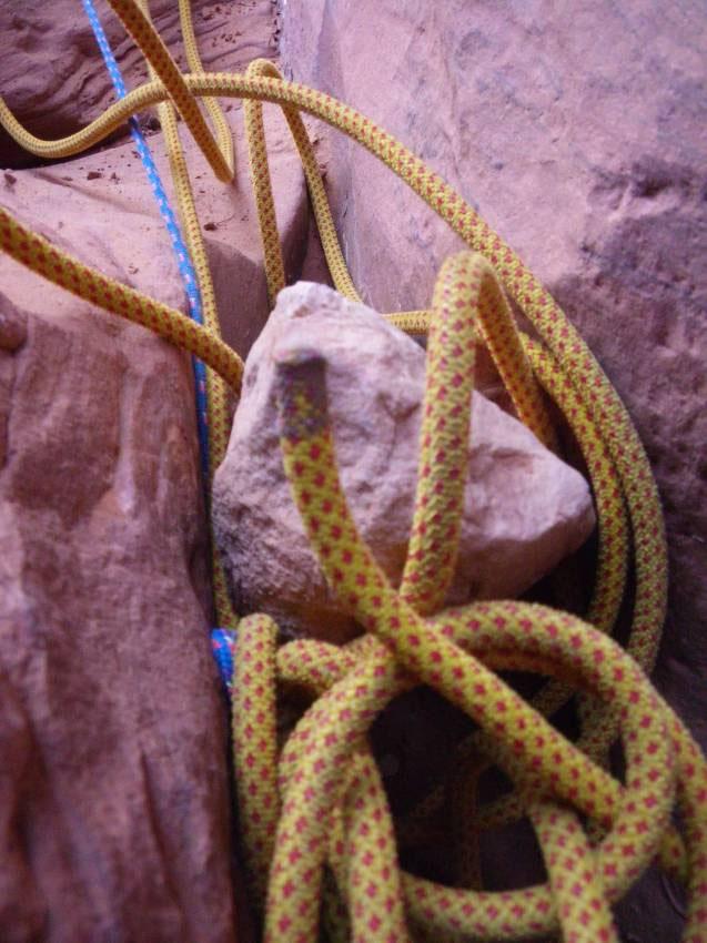 A FiddleStuck Rope