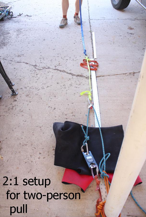 2 person rigging