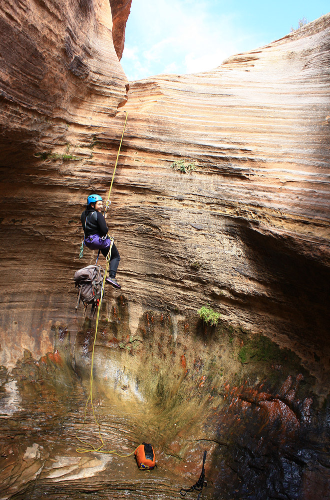 Another sunny rappel