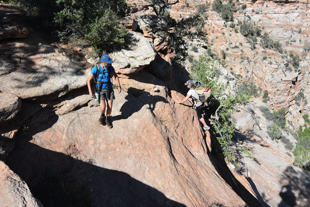 A short climbing problem