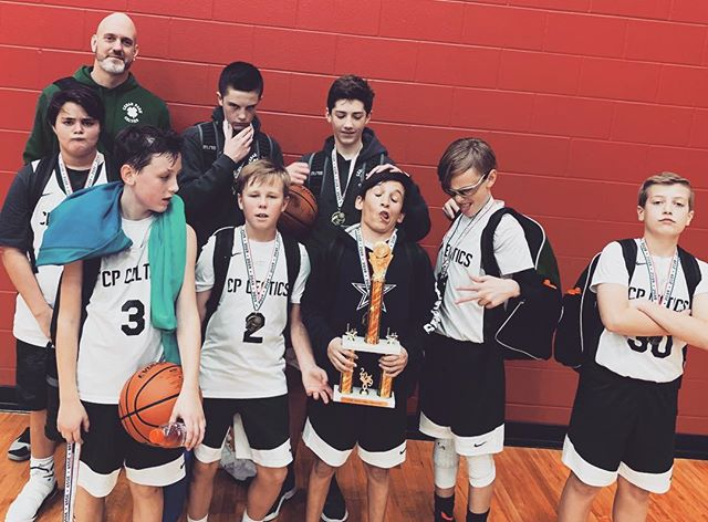 2018-19 Winter 6th Grade Boys Select Celtics Black