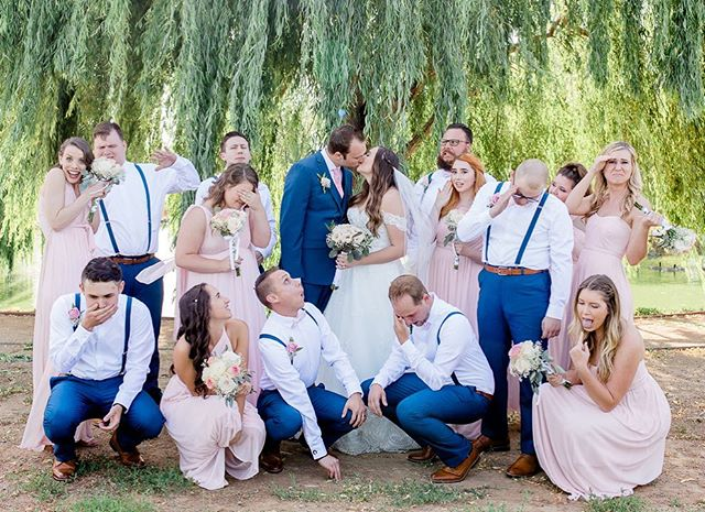 I love when you have bridal parties that are totally down for some fun poses . . . . . #melissaenaultphotography #sacramentoweddings #wolfeheightseventcenter #sacramentoweddingphotographer #theknot #bridalparty #vacavilleweddingphotographer #fairfieldphotographer #vacavillephotographer #napaweddings #napaphotographer #napaweddingphotographer #bayareaphotographer #bayareaweddings #bridalpartyfun #bayareaweddingphotographer #californiaweddings #bridalpartyphotos #californiaweddingphotographer #buildandbloom #mastinlabs