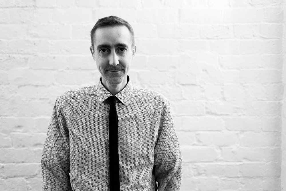 Gareth, Studio Manager at burningred