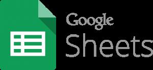 Google Sheets transparent logo
