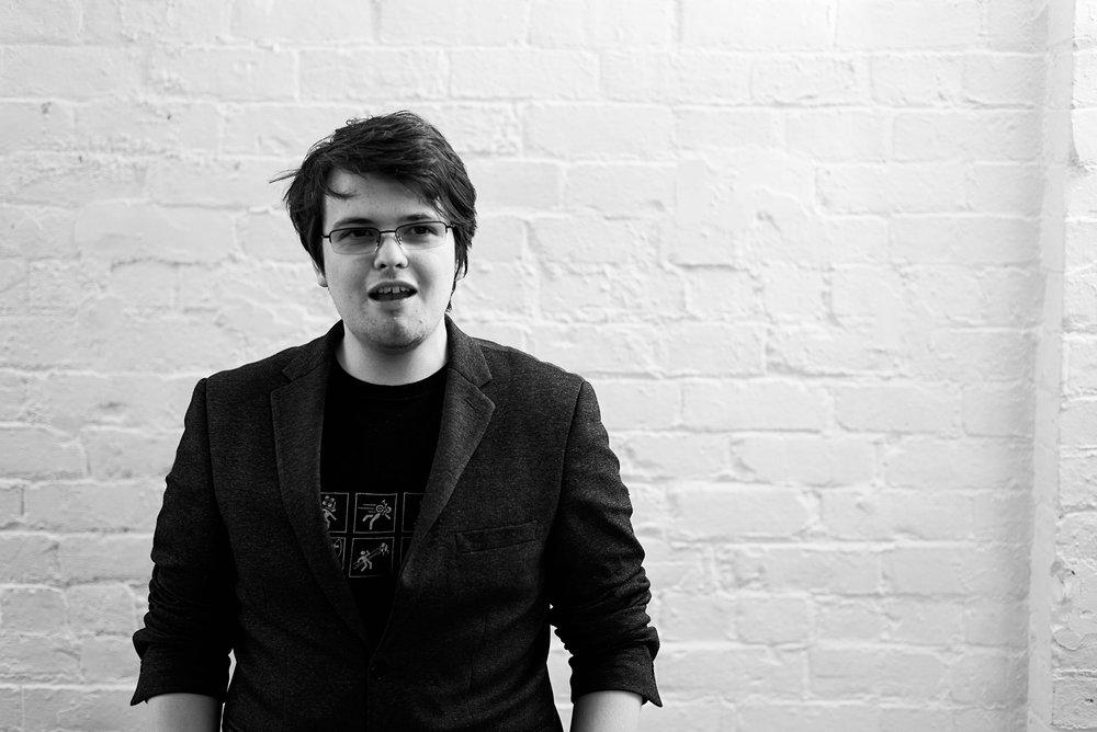 Gareth Aled, Senior Designer at burningred