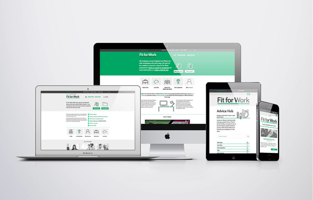 Fit For Work / UK Government -  view case study