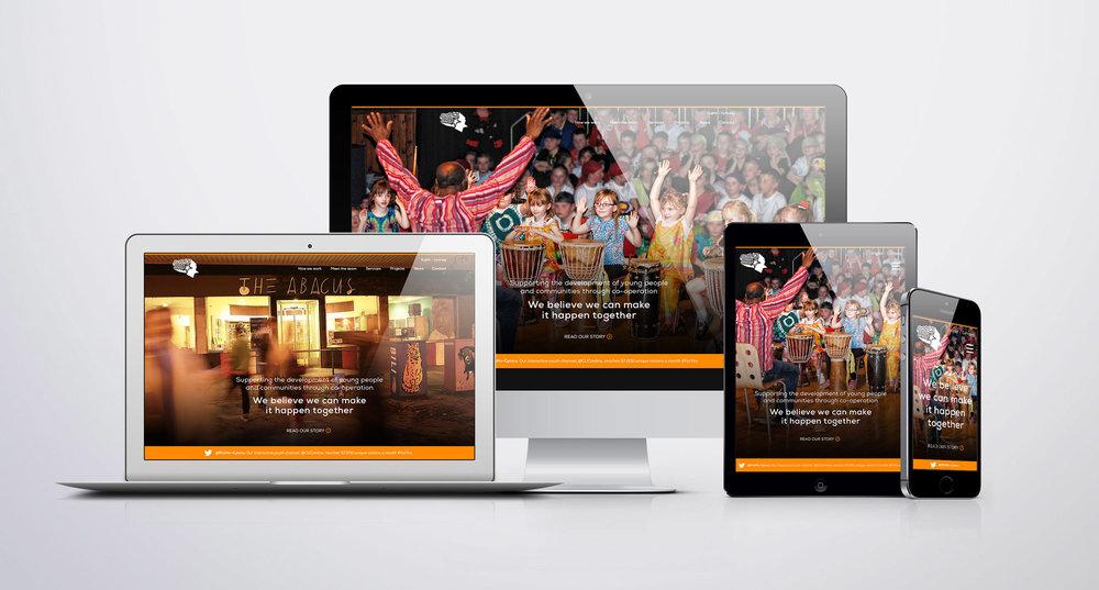 ProMo Cymru charity website design and build