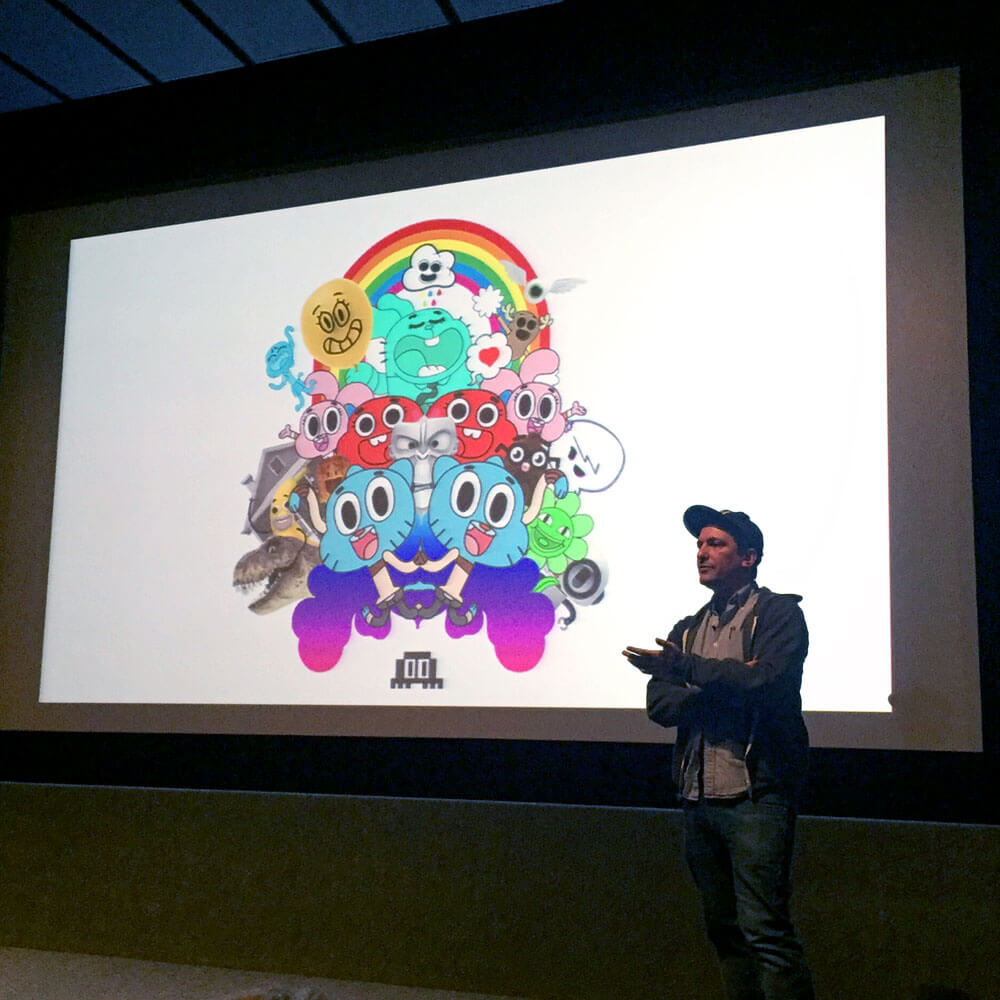 ben bocquelet amazing world of gumball - design inspiration