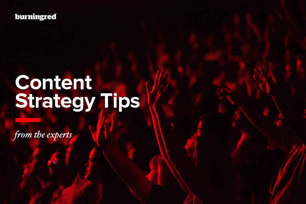 Content strategy tips from the experts featured image