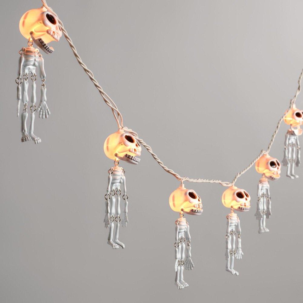 Halloween skeleton fairy lights