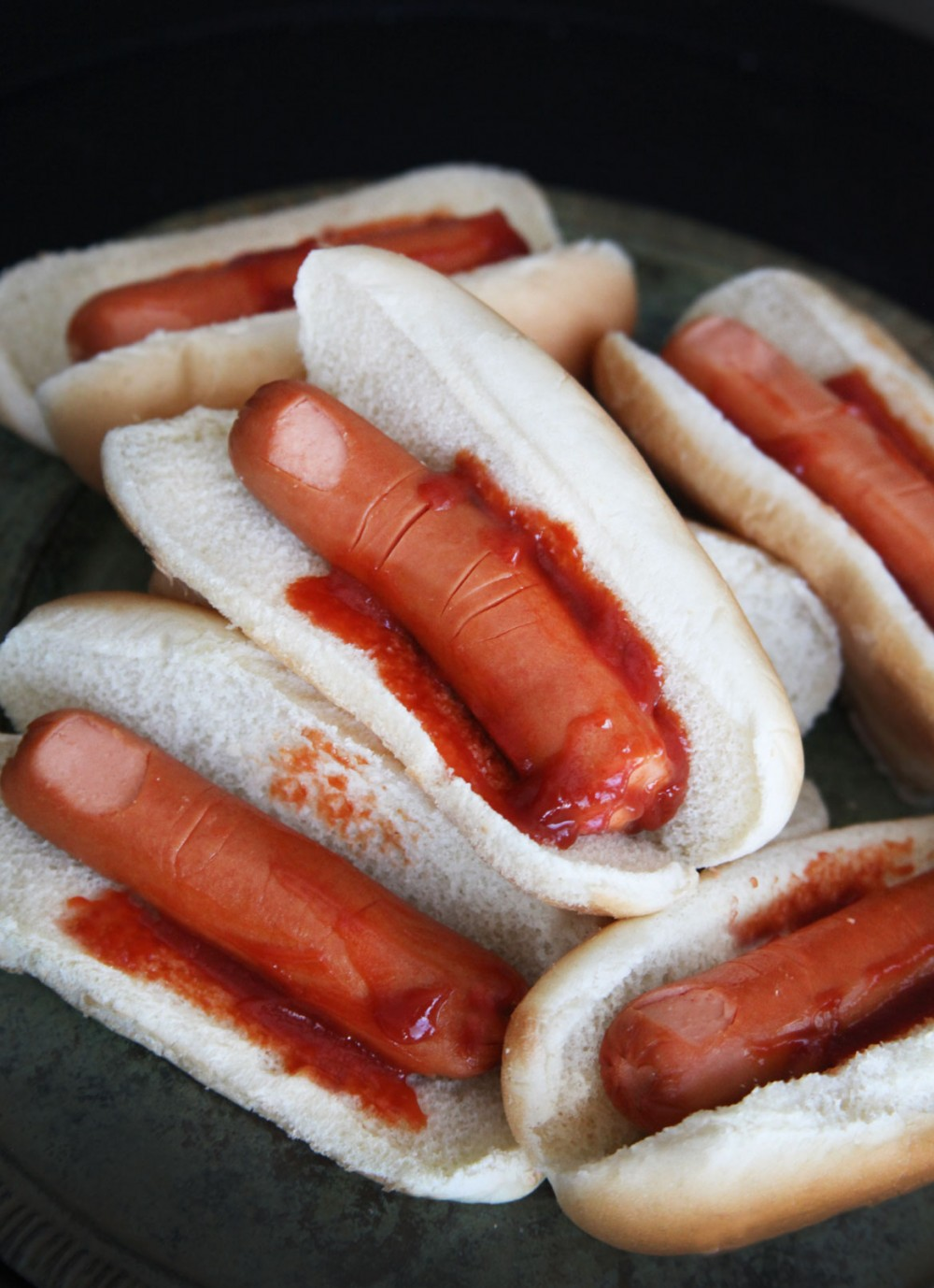 Halloween hotdogs food ideas