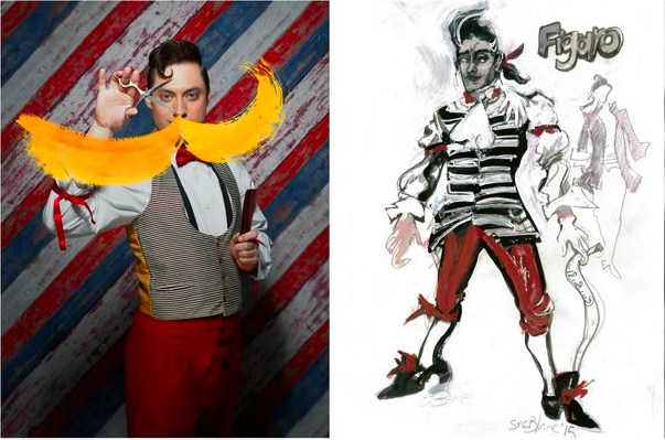 Our Barber of Seville image used in WalesOnline