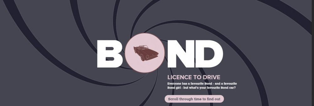 Business Infographics James Bond 007 Burning Red