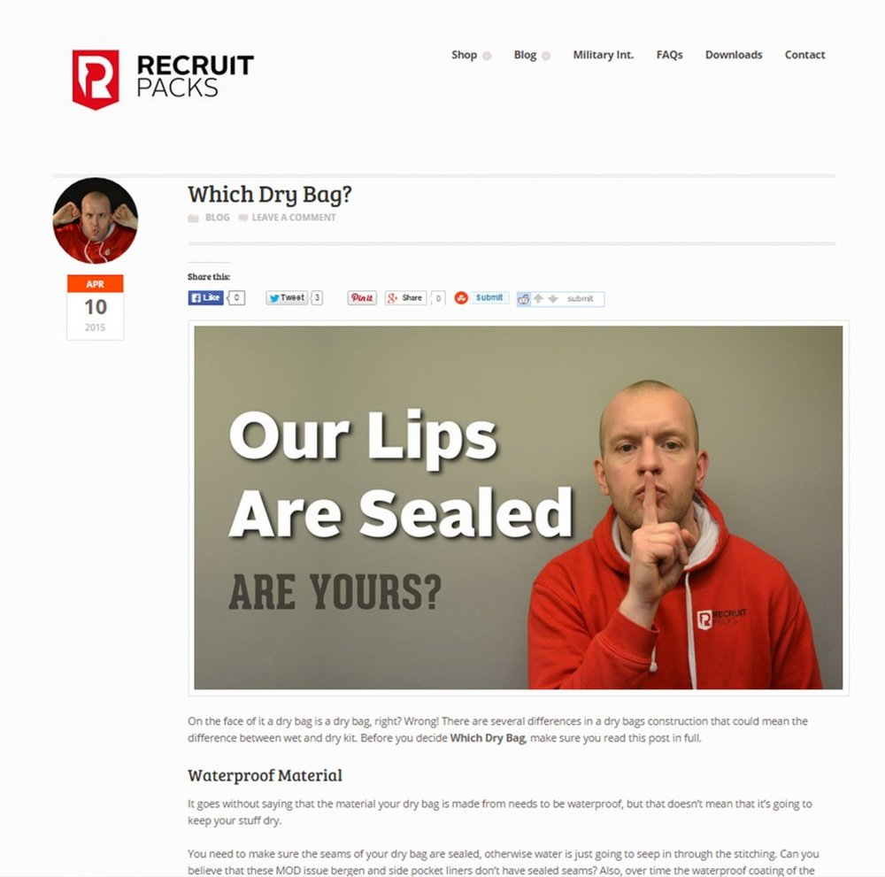 Burning Red Content Marketing Strategy Recruit Pack Content