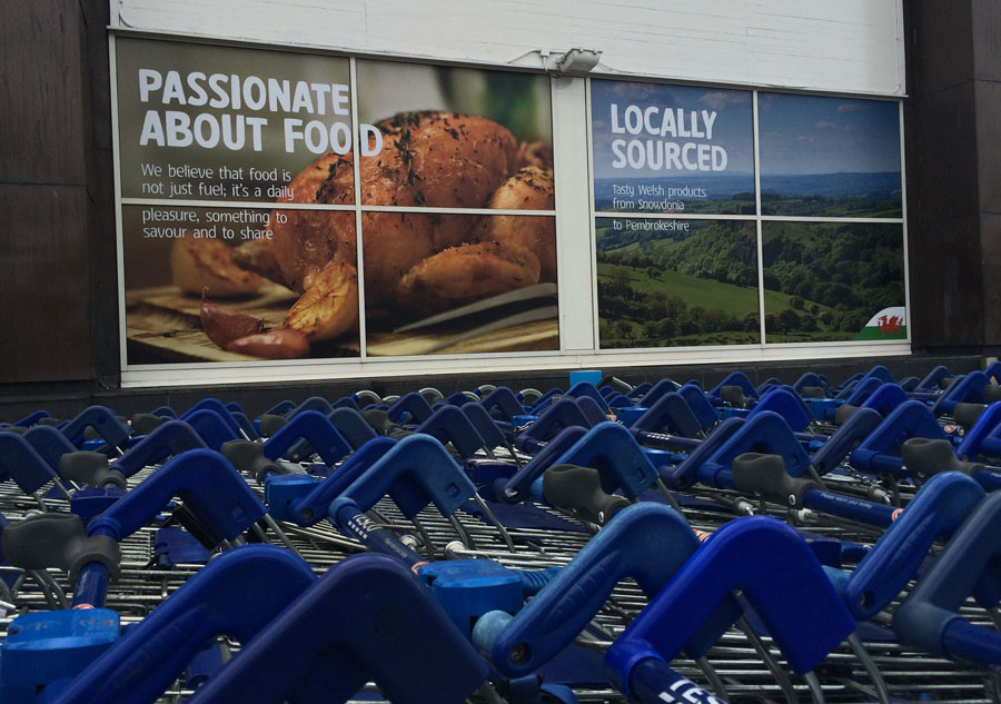 Tesco store imagery