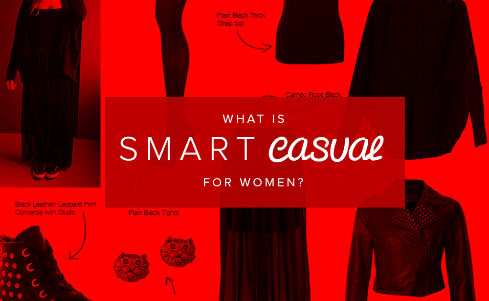 What is smart casual for women
