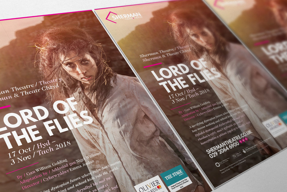 Lord of the Flies - Campaign Imagery and Poster Design