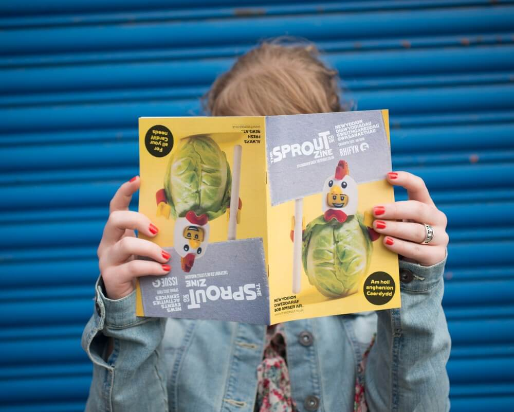 theSprout - Information Advice and Online Magazine Website for Young People in Cardiff