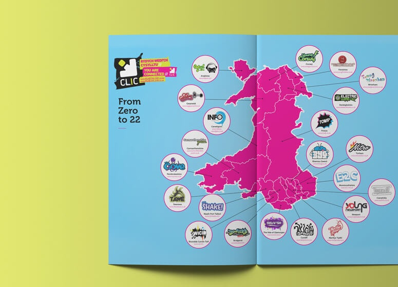 CLIConline - National Information Advice and Online Magazine Website for Young People in Wales