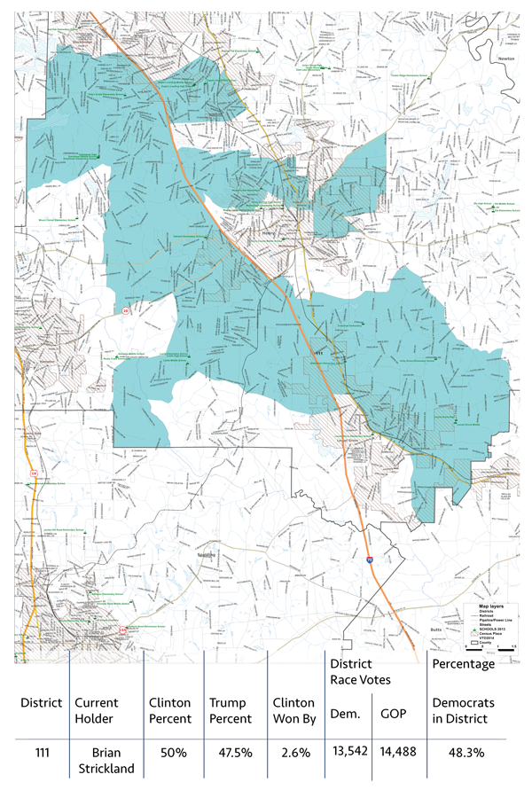Map Of Georgia District 6.House District 111 159 Georgia Together 159 Georgia Together