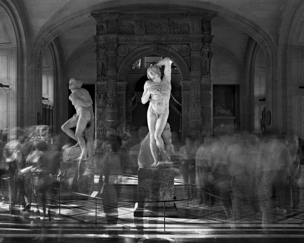 Les Esclaves de Michel Ange, Musee du Louvre, 2010