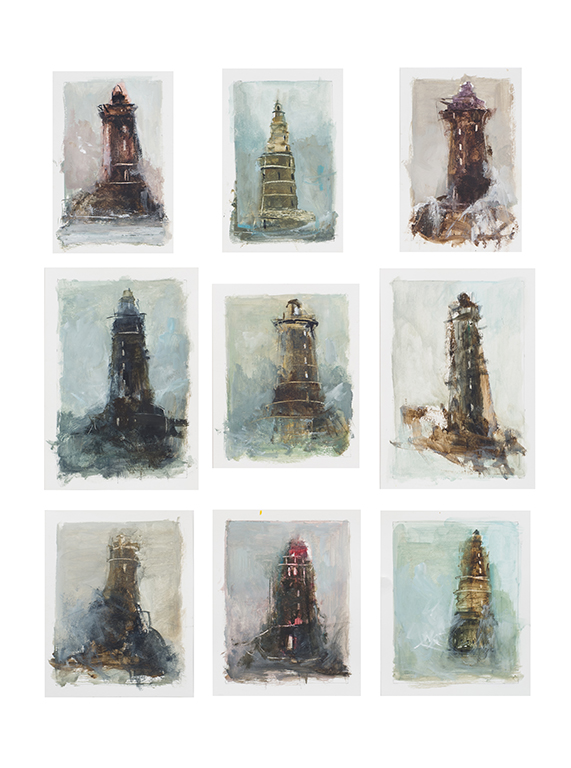 Series of Studies on Lighthouses, Brisons Veor (UK)