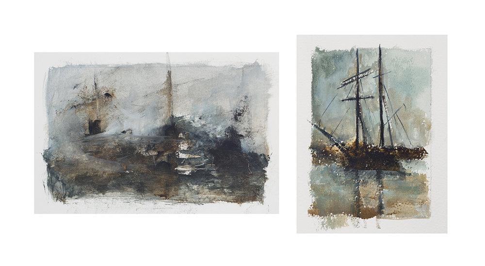Series of Studies on the Sea no 18, Brisons Veor (UK)