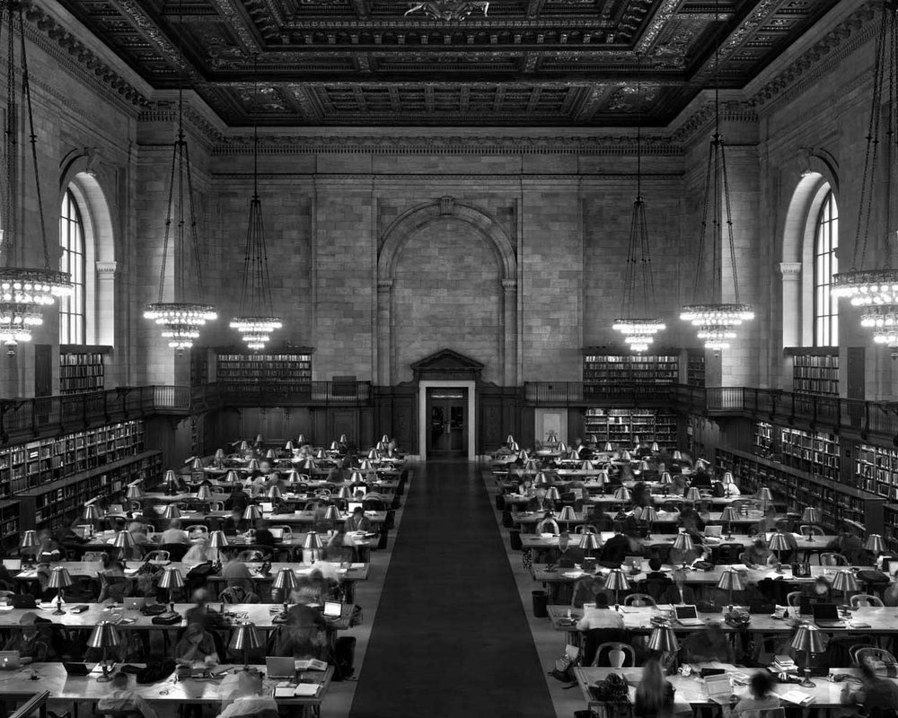 Main Reading Room, New York Public Library