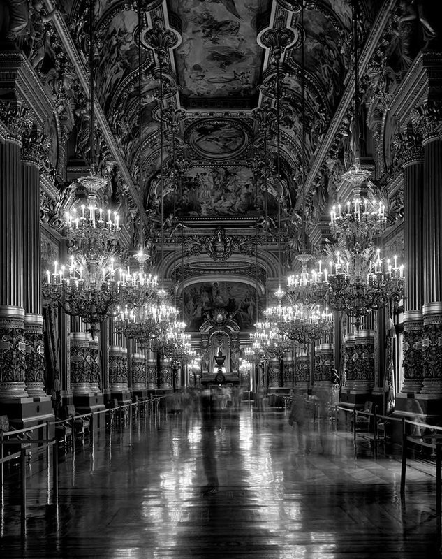 Le Grand Foyer, Opera de Paris - Palais Garnier