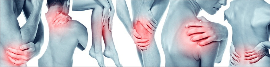 Areas of Topical Pain