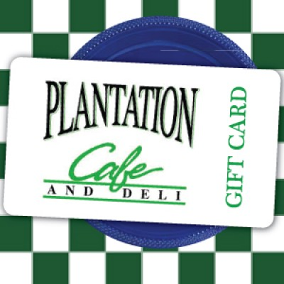 Plantation Cafe and Deli Gift Card - The best Breakfast on Hilton Head Island SC