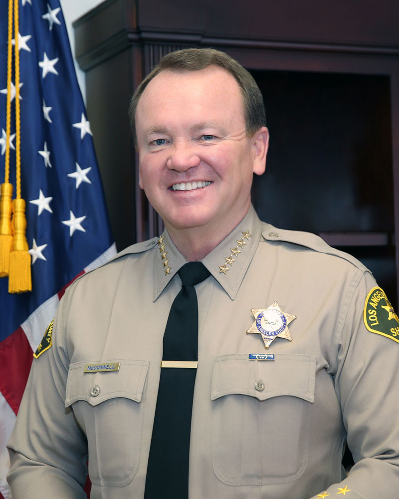 Sheriff Jim McDonnell  Los Angeles County Sheriff's Department
