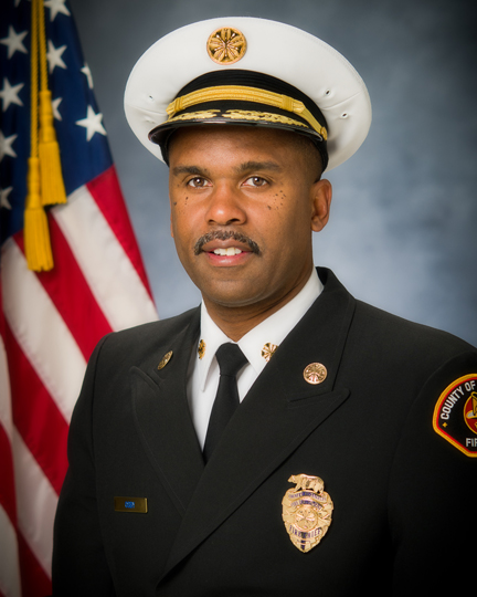 Chief Daryl Osby  Los Angeles County Fire Department