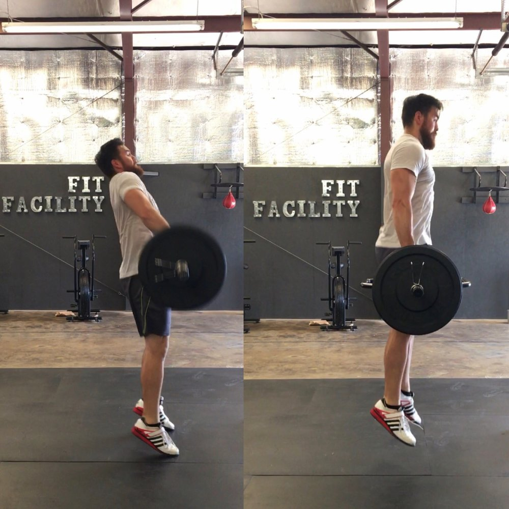 Triple Extension using power clean and the weight jump | The Fit Facility | Jamie Dixon | Florence Alabama | Fitness Facility.JPG