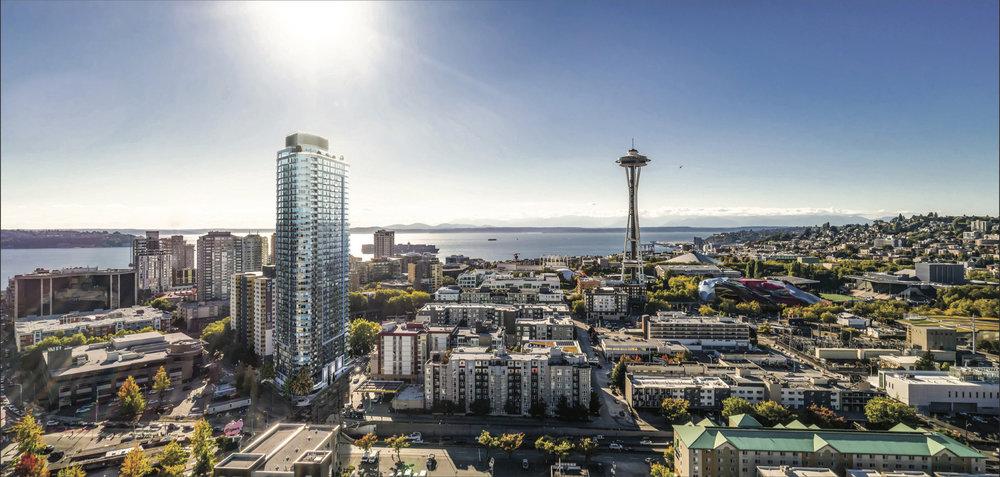 Spire Condominums  600 Wall Street | Seattle, WA