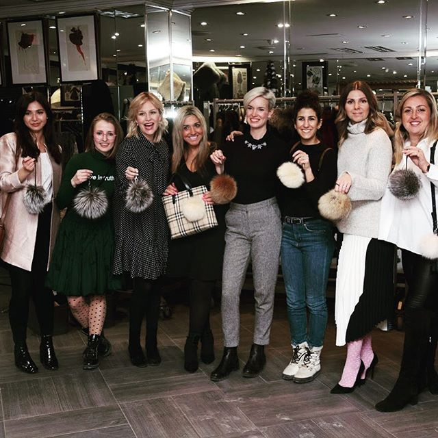 The final results from our DIY Pom Pom party last night! Stay tuned for a chance to win your own keychain! . . . . . #ottawabloggers #613 #yowcitystyle #influencers #diy #crafts #ootn #wearefur #furnow #fashionistastyle #fashion #event #fun #supportlocal
