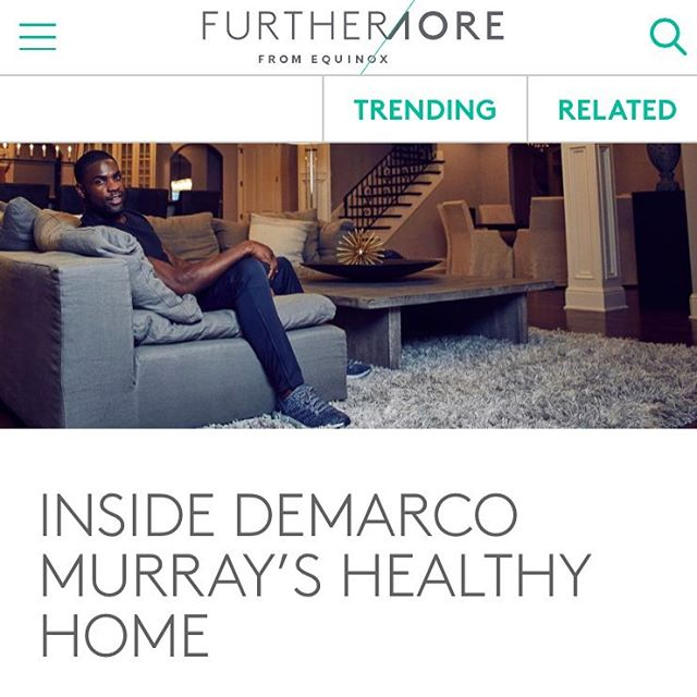 Loving this piece with @demarcomurray in @furthermore #bookedbymodelb