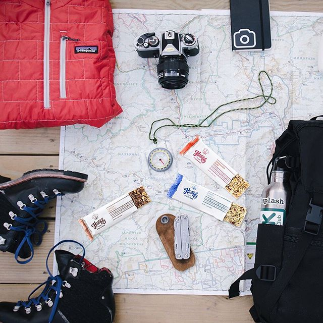 Everything you need for the perfect weekend adventure 😉