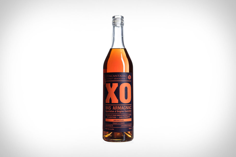 L'ENCANTADA XO ARMAGNAC - A collaboration between PM Spirits and Armagnac cask hunters L'Encantada, this blended spirit is one of the most complex brandys in the world. The release is comprised of four different casks curated by L'Encantada with vintages ranging between 1987 - 1997. Each one was produced by distillers who create in the heart of their fields with a mobile Alambic Armagnacais still before the spirit matures in oak in Gascony. Only 1,600 bottles are available at a cask strength of 46.8% ABV. - - uncrate.com