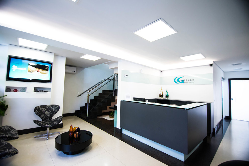 Recepção da Clinica Guimarães