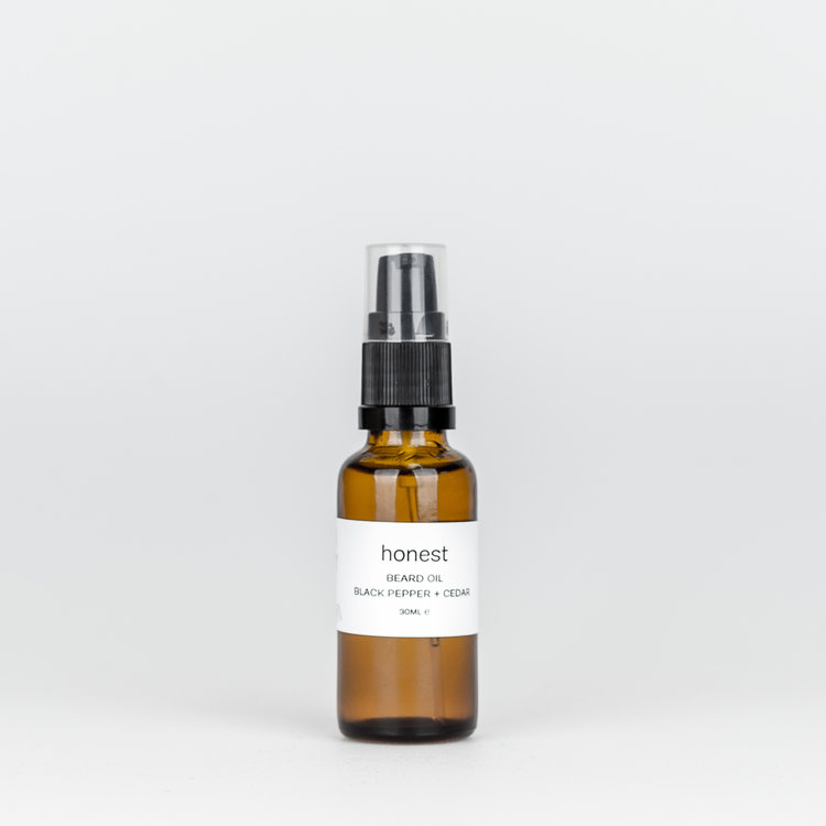 Black Pepper & Lemongrass Beard Oil £29