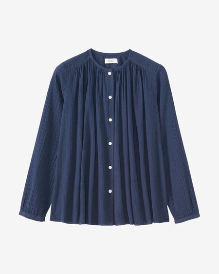 Cotton Seersucker Shirt by Toast £55