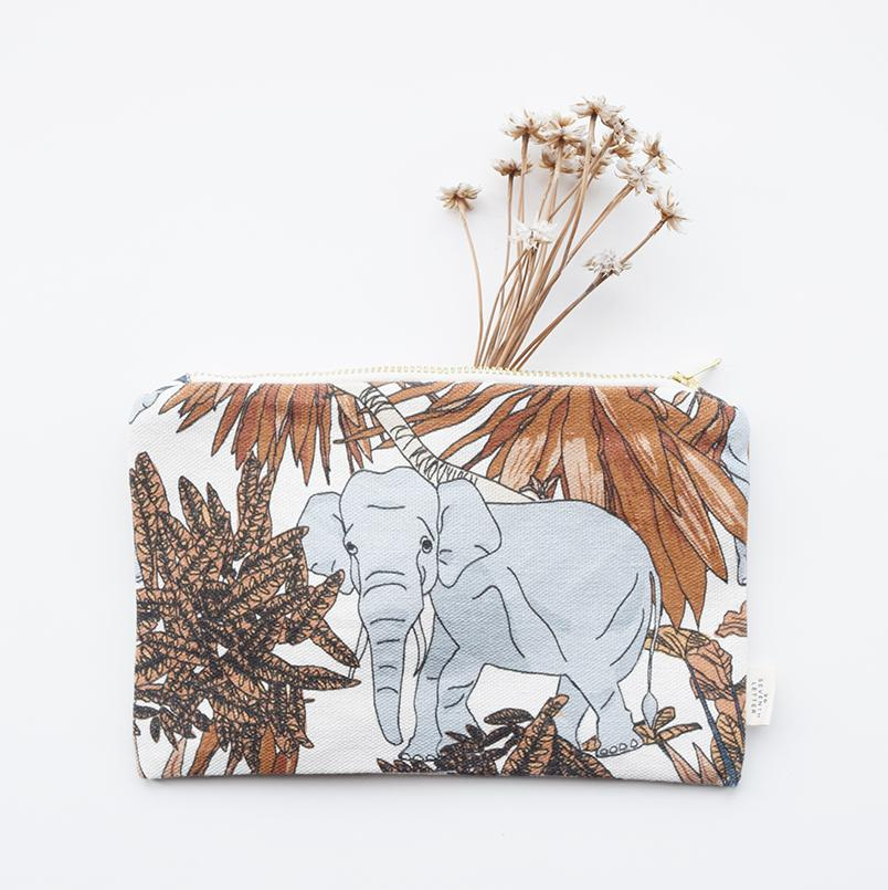 Elephants in London Make Up Bag £25
