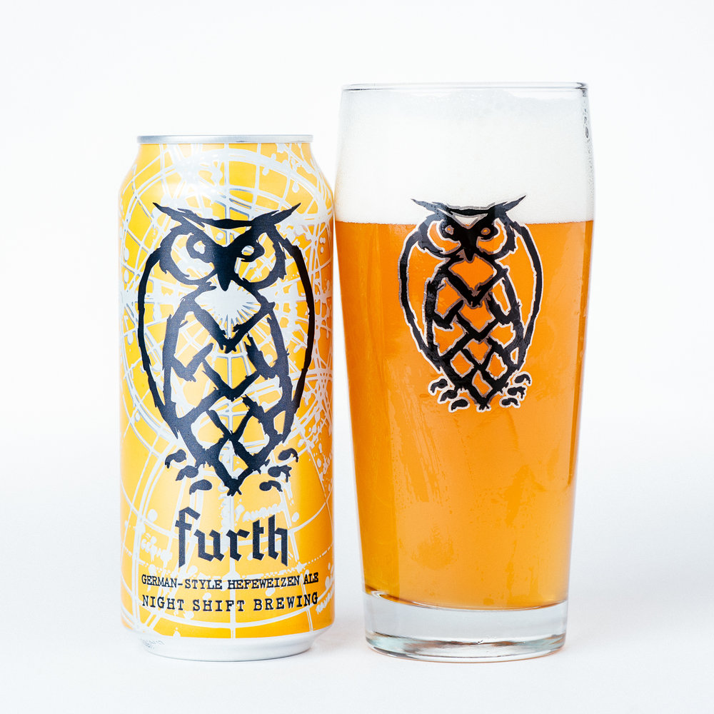 Furth   | 5.5% ABV | A complex and easy drinking German style Hefeweizen with notes of banana and spice. Furth is the perfect beer for the dog days of summer.