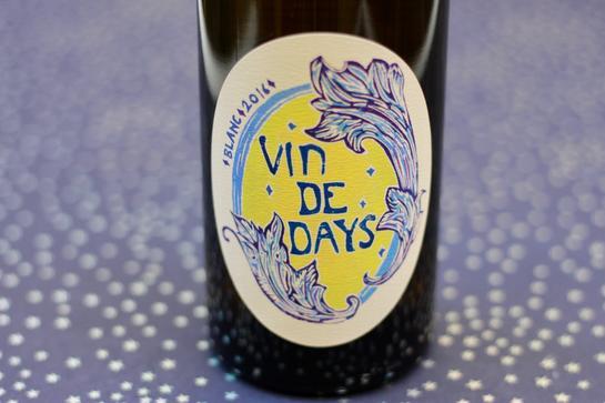 Brianne Day's white blend, Vin de Days.