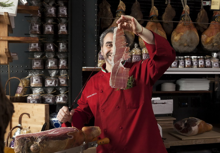 Cesara Casella from Casella's Prosciutto