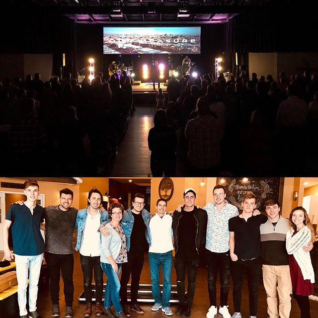 Thanks @higherhopechurch for a great weekend! We really enjoyed our time with you 🙂 I am always amazed by the different relationships that we get to make at the places we visit. We love you guys!