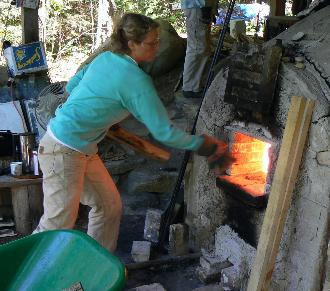 wood firing, wood kiln