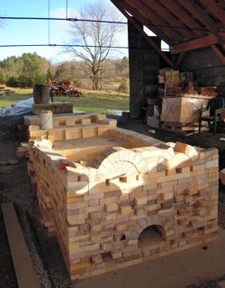 wood kiln construction